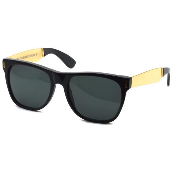 SUPER BY RETROSUPERFUTURE サングラス CLASSIC クラシック 202 ブラック/ゴールド-ダークグレーレンズ R(55)サイズ|props-tokyo