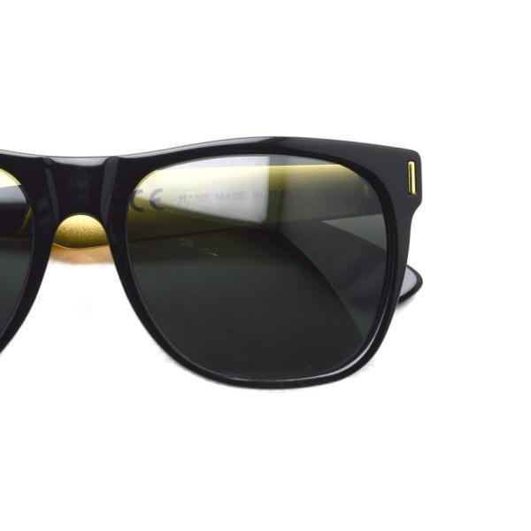 SUPER BY RETROSUPERFUTURE サングラス CLASSIC クラシック 202 ブラック/ゴールド-ダークグレーレンズ R(55)サイズ|props-tokyo|03