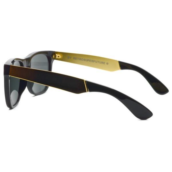SUPER BY RETROSUPERFUTURE サングラス CLASSIC クラシック 202 ブラック/ゴールド-ダークグレーレンズ R(55)サイズ|props-tokyo|04