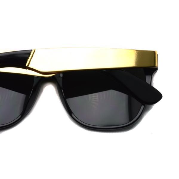 SUPER BY RETROSUPERFUTURE サングラス CLASSIC クラシック 202 ブラック/ゴールド-ダークグレーレンズ R(55)サイズ|props-tokyo|06