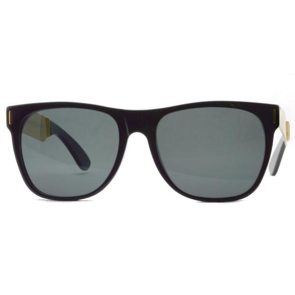 SUPER BY RETROSUPERFUTURE サングラス CLASSIC クラシック 202 ブラック/ゴールド-ダークグレーレンズ R(55)サイズ|props-tokyo|07