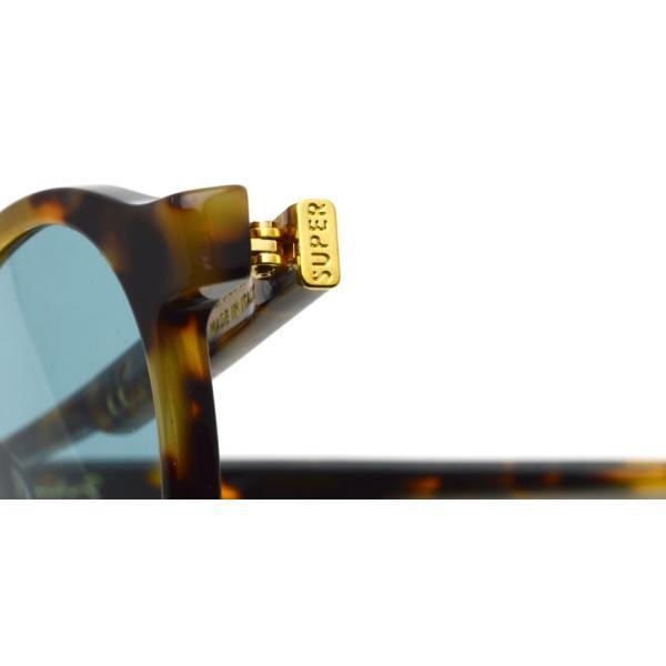 SUPER BY RETROSUPERFUTURE サングラス THE ICONIC アイコニック AI4 黄べっ甲柄-ライトブルーレンズ アンディ・ウォーホルモデル|props-tokyo|04
