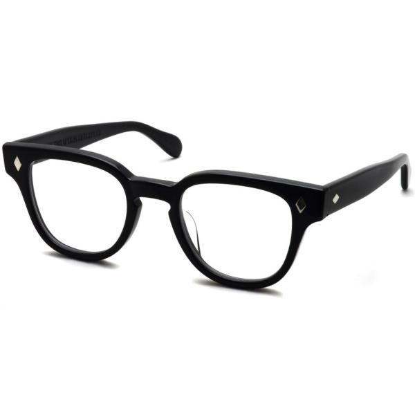JULIUS TART OPTICAL タート メガネフレーム BRYAN BLACK ブラック サイズ 46【送料無料】|props-tokyo