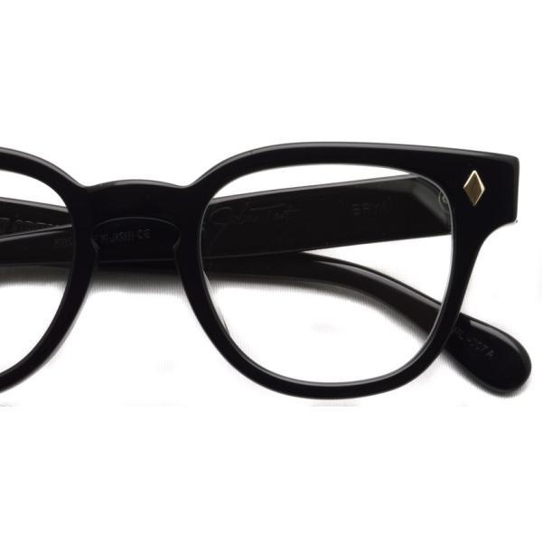 JULIUS TART OPTICAL タート メガネフレーム BRYAN BLACK ブラック サイズ 46【送料無料】|props-tokyo|04