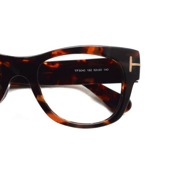 トムフォード TOM FORD TF5040 182 べっこう柄 メガネ フレーム 国内正規品【送料無料】|props-tokyo|04