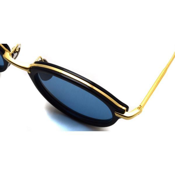 トムブラウン サングラス THOM BROWNE. TB-011 サイズ:49 Navy-Shiny 18K Gold-Dark Blue ネイビー・K18 ゴールド・ダークブルーレンズ 国内正規品【送料無料】|props-tokyo|05