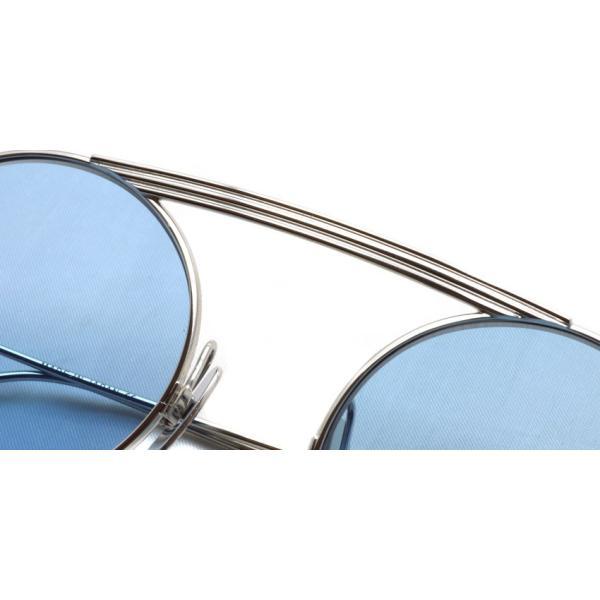 トムブラウン サングラス THOM BROWNE. TB-111  Silver-Light Blue シルバー-ライトブルーレンズ 国内正規品 送料無料 props-tokyo 06