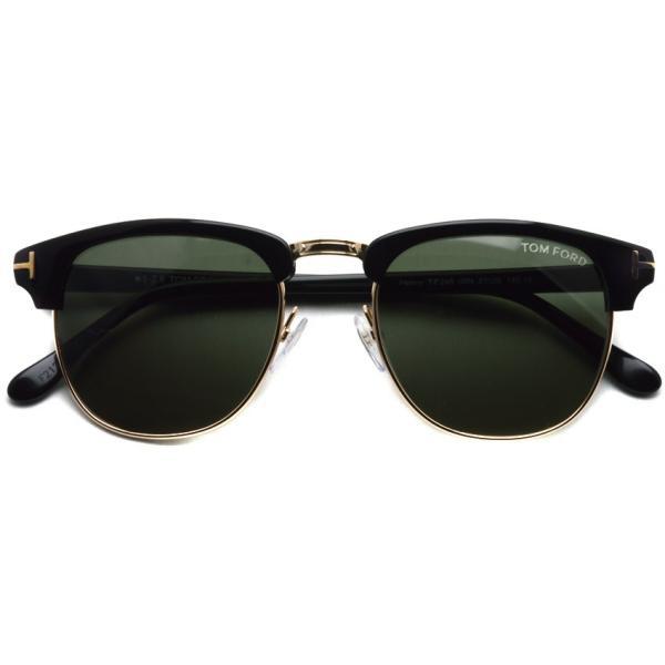 トムフォード TOM FORD TF248 Henry 05N (Black/Gold-G15 ブラック/ゴールド) サーモントブローサングラス 国内正規品【送料無料】|props-tokyo|02