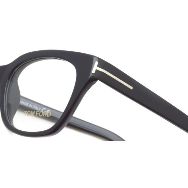 トムフォード TOM FORD TF4240 001 Black ブラック アジアンフィット 黒縁 メガネ フレーム 国内正規品【送料無料】|props-tokyo|04