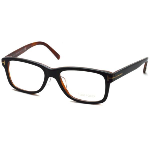 トムフォード TOM FORD TF5163 005 Black/Red tortoise ブラック/レッドトータス 黒縁 メガネ フレーム 国内正規品【送料無料】 props-tokyo