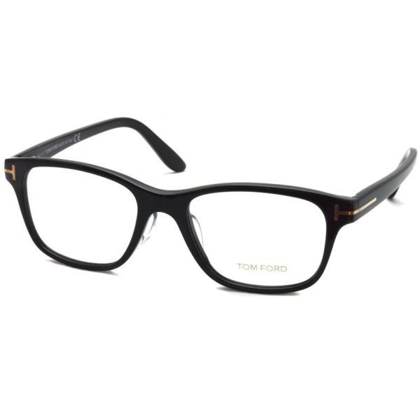 トムフォード TOM FORD TF5196 001 Black ブラック 黒縁 メガネ フレーム 国内正規品【送料無料】|props-tokyo