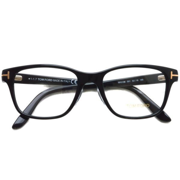 トムフォード TOM FORD TF5196 001 Black ブラック 黒縁 メガネ フレーム 国内正規品【送料無料】|props-tokyo|02