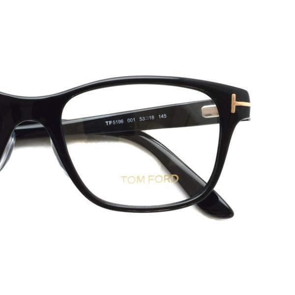 トムフォード TOM FORD TF5196 001 Black ブラック 黒縁 メガネ フレーム 国内正規品【送料無料】|props-tokyo|04
