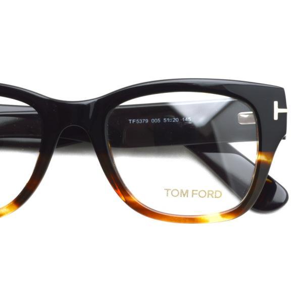 トムフォード TOM FORD TF5379 アジアンフィット 005  Black / Tortoise ブラック/トータス メガネ フレーム 国内正規品【送料無料】|props-tokyo|04
