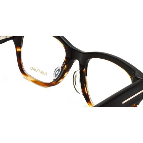トムフォード TOM FORD TF5379 アジアンフィット 005  Black / Tortoise ブラック/トータス メガネ フレーム 国内正規品【送料無料】|props-tokyo|06