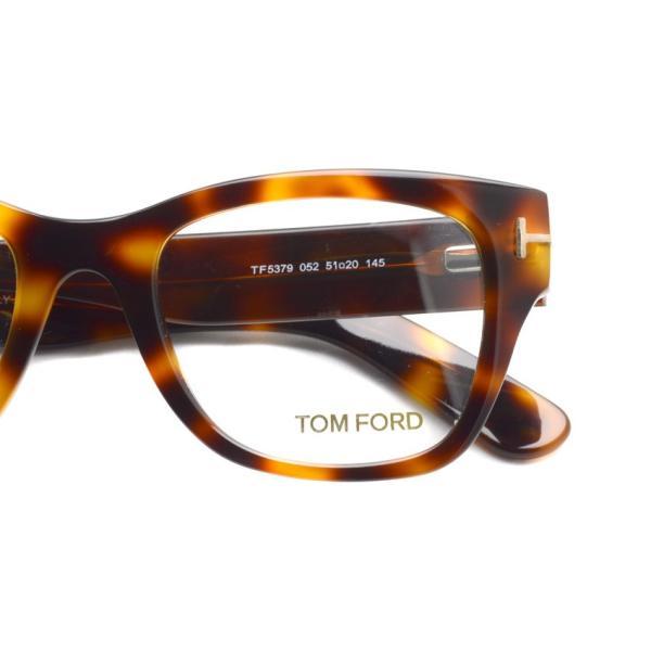 トムフォード TOM FORD TF5379 アジアンフィット 052 Tortoise べっこう柄 メガネ フレーム 国内正規品【送料無料】|props-tokyo|04