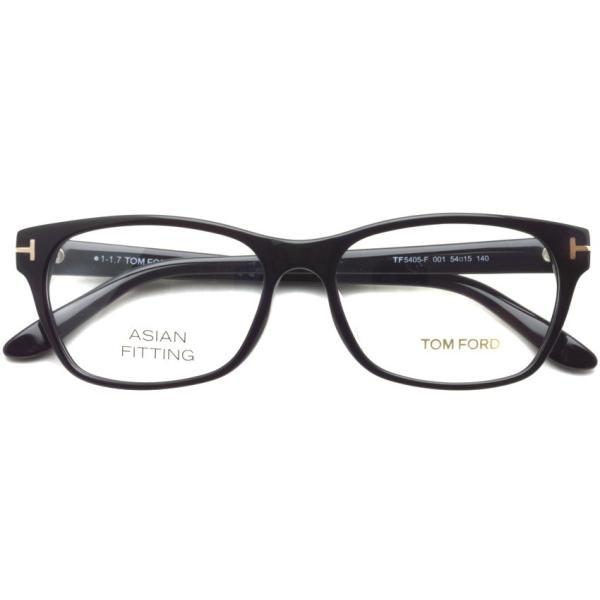 トムフォード TOM FORD TF5405F 001 Black ブラック 黒縁 メガネ フレーム 国内正規品【送料無料】|props-tokyo|02