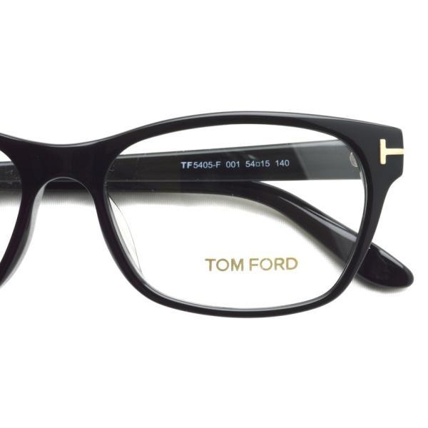 トムフォード TOM FORD TF5405F 001 Black ブラック 黒縁 メガネ フレーム 国内正規品【送料無料】|props-tokyo|04