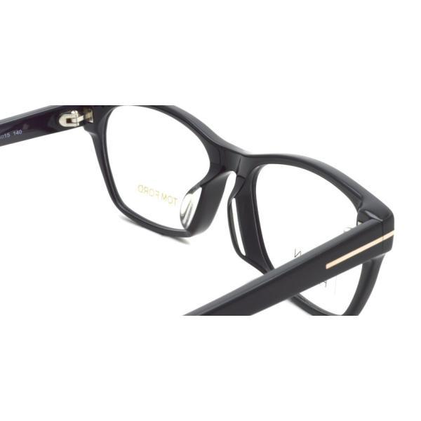 トムフォード TOM FORD TF5405F 001 Black ブラック 黒縁 メガネ フレーム 国内正規品【送料無料】|props-tokyo|05