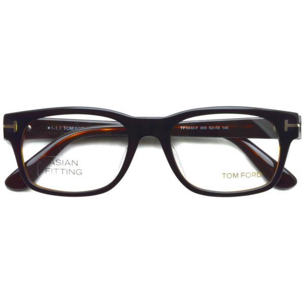 トムフォード TOM FORD TF5432F 005 Black /Brown ブラック/ブラウン メガネ フレーム 国内正規品【送料無料】|props-tokyo|02