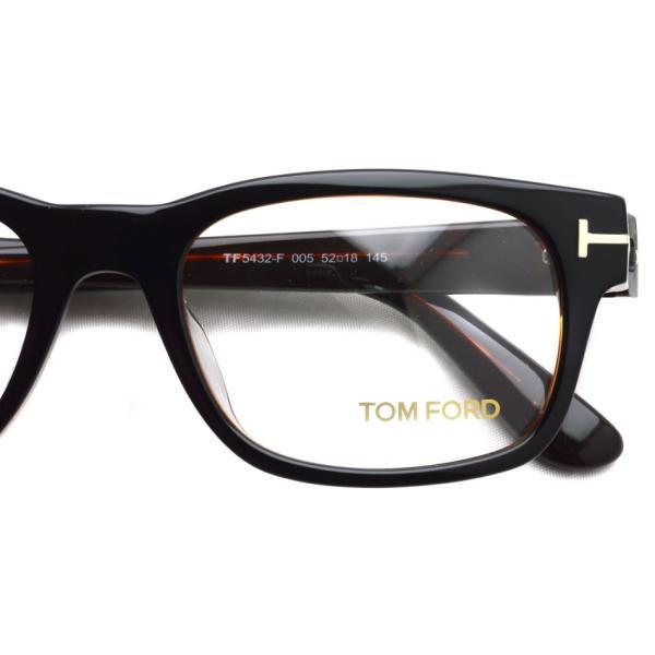 トムフォード TOM FORD TF5432F 005 Black /Brown ブラック/ブラウン メガネ フレーム 国内正規品【送料無料】|props-tokyo|04