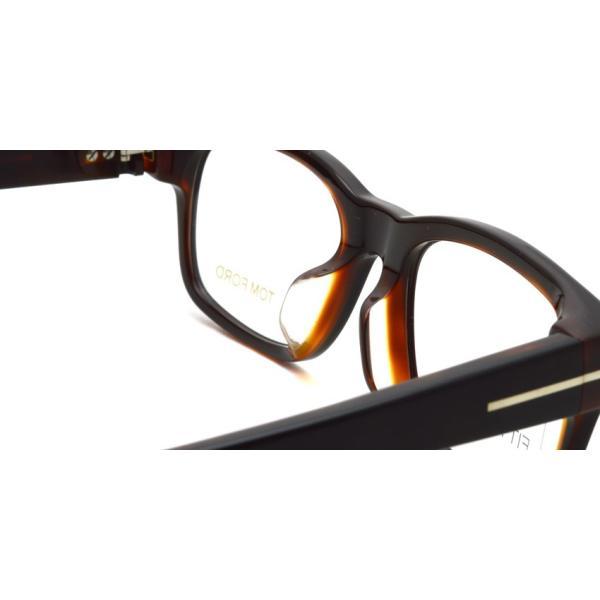 トムフォード TOM FORD TF5432F 005 Black /Brown ブラック/ブラウン メガネ フレーム 国内正規品【送料無料】|props-tokyo|05