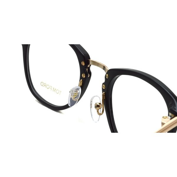 トムフォード TOM FORD TF5467 48size 001 Black/Gold ブラック-ゴールド コンビネーションウェリントン メガネ フレーム 国内正規品 今市隆二さん着用|props-tokyo|07