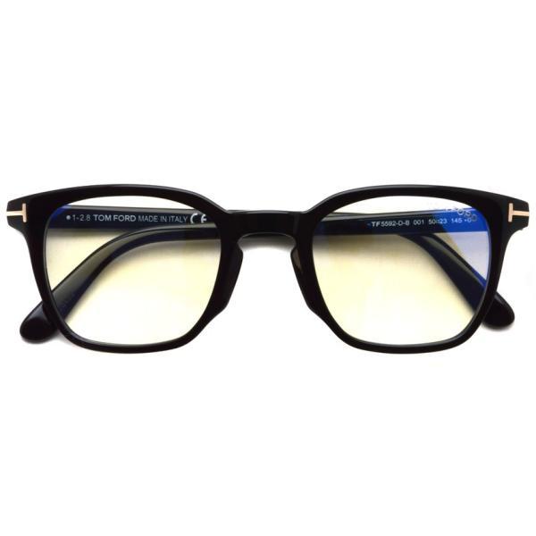 トムフォード TOM FORD TF5592-D-B 001 Black  アジアンフィッテイング ブラック-ブルーライトカットレンズ メガネ フレーム 国内正規品【送料無料】|props-tokyo|02