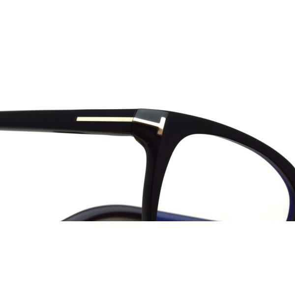 トムフォード TOM FORD TF5592-D-B 001 Black  アジアンフィッテイング ブラック-ブルーライトカットレンズ メガネ フレーム 国内正規品【送料無料】|props-tokyo|05