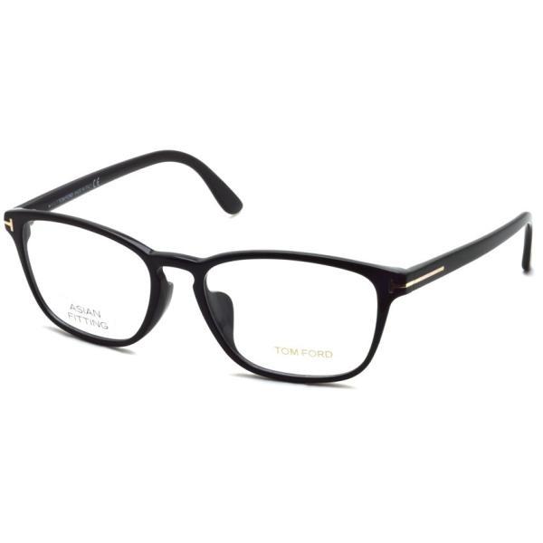 トムフォード TOM FORD TF5355F 001 Black ブラック アジアンフィット 黒縁 メガネ フレーム 国内正規品【送料無料】|props-tokyo