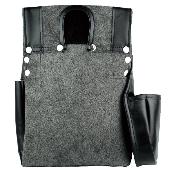 ふくろ倶楽部 伝説 腰袋四型 釘袋 HB-034K 黒|proshop-asahi|02