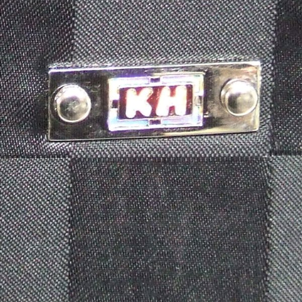 KH(基陽) ≪龍牙シリーズ≫ ウエストバッグ(腰袋) 小 ブラック RY-140 「2014型」|proshop-asahi|02