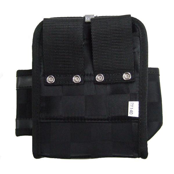 KH(基陽) ≪龍牙シリーズ≫ ウエストバッグ(腰袋) 小 ブラック RY-140 「2014型」|proshop-asahi|04