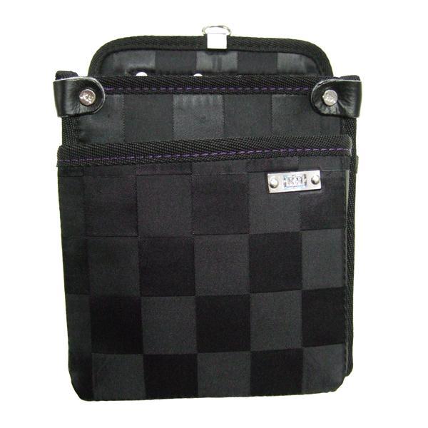 KH(基陽) ≪龍牙シリーズ≫ ウエストバッグ(腰袋) 大 ブラック RY-800 「2008型」|proshop-asahi