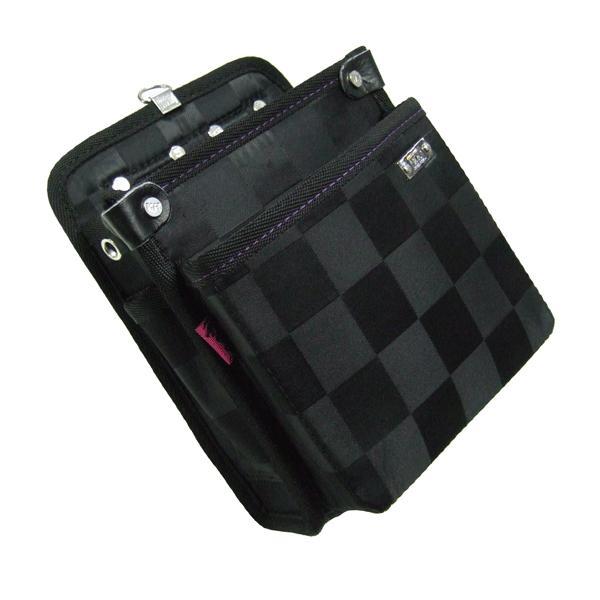 KH(基陽) ≪龍牙シリーズ≫ ウエストバッグ(腰袋) 大 ブラック RY-800 「2008型」|proshop-asahi|02