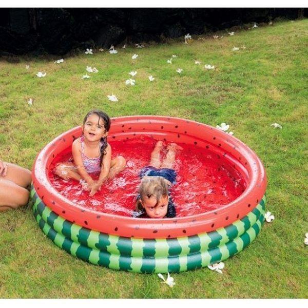 ジーロン JILONG イガラシ IGARASHI ウォーターメロン 3リングプール ビニールプール JL-662116 レジャー/アウトドアグッズ 家庭用 水遊び 家族 子供