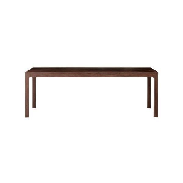 テーブル ウォールナット TFTO200R ウッドワン su:iji furniture