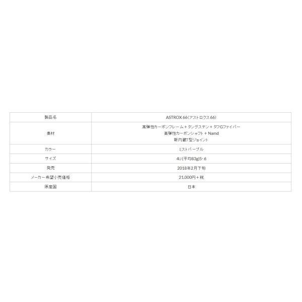 YONEX ヨネックス バドミントンラケット アストロクス 66 ASTROX 66 AX66|proshop-yamano|06