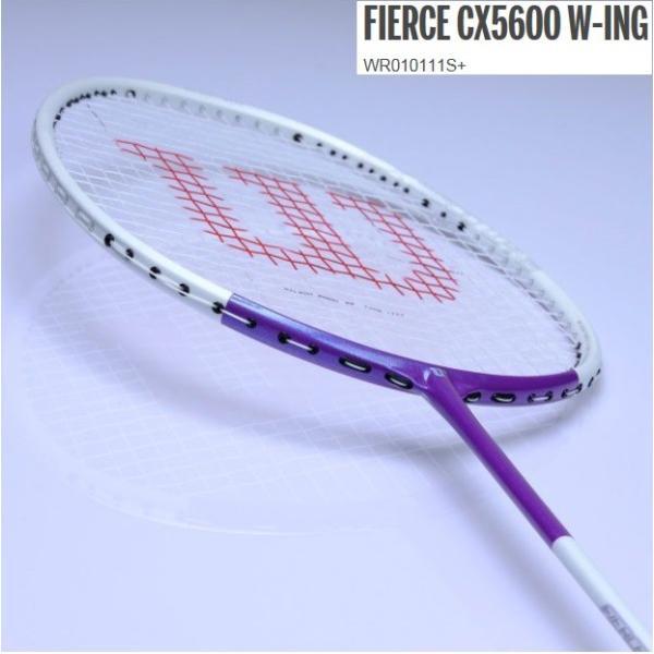 FIERCE CX 5600 W-ING  ウィルソン バドミントンラケット フィアースCX5600 WR010111s+ proshop-yamano 02