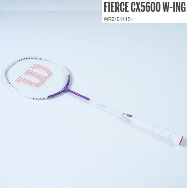 FIERCE CX 5600 W-ING  ウィルソン バドミントンラケット フィアースCX5600 WR010111s+ proshop-yamano 03