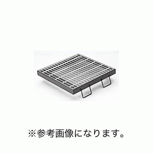 カネソウスチール製グレーチング枠付正方形型プレーンタイプ集水桝用メインバーIバーT-14・T-6仕様 HSC-3338 (/C)