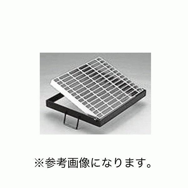 カネソウスチール製グレーチング110°開閉式プレーンタイプ集水桝用メインバーIバーT-14・T-6仕様 HSF-5350 (/C