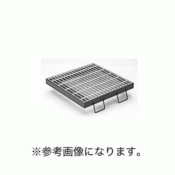 カネソウスチール製グレーチング枠付正方形型滑り止め模様付集水桝用メインバーDIバーT-14・T-6仕様 HXC-4450A (/