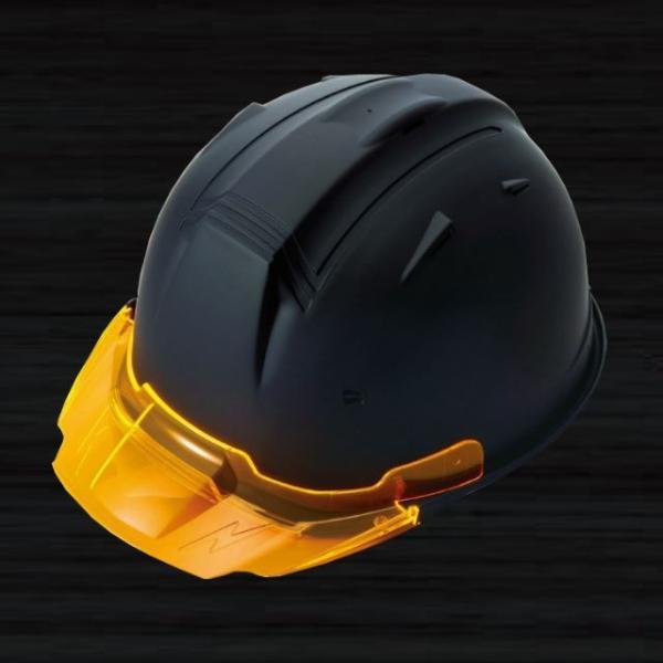 【5個セット】進和化学工業 SS-19V型T-P式RA マット塗装(つや消し) 透明ひさし 作業用ヘルメット(通気孔付き/ライナー入)/  工事用 作業用 建設用 建築用|proshophamada|02