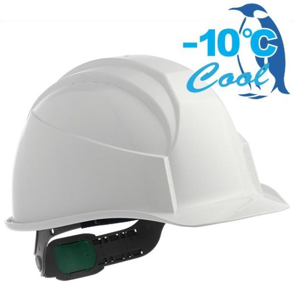 スミハット KK-B-NCOOL Nクール 遮熱 練込み 作業用ヘルメット(通気孔なし/ライナー入り)/ 夏 熱中症対策 工事用 建設用 建築用 現場用 高所用 安全 電気工事|proshophamada