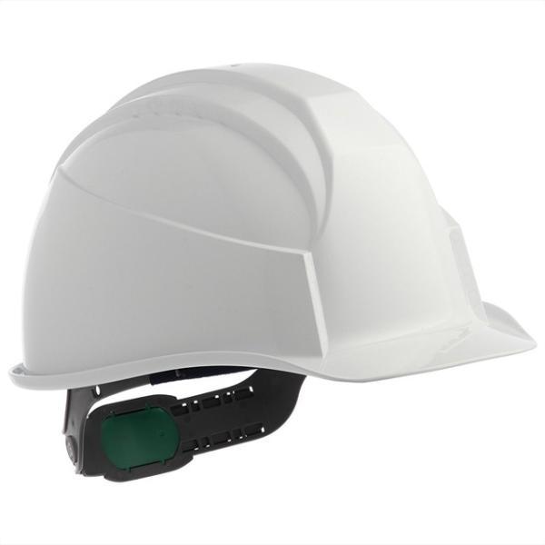 スミハット KK-B-NCOOL Nクール 遮熱 練込み 作業用ヘルメット(通気孔なし/ライナー入り)/ 夏 熱中症対策 工事用 建設用 建築用 現場用 高所用 安全 電気工事|proshophamada|02