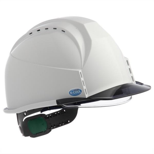 スミハット KKC3S-B-NCOOL Nクール 遮熱 練込 大型シールド面付 作業用ヘルメット(通気孔付き/ライナー入り)/ 夏 熱中症対策 安全 工事用 建設用 建築用|proshophamada|03
