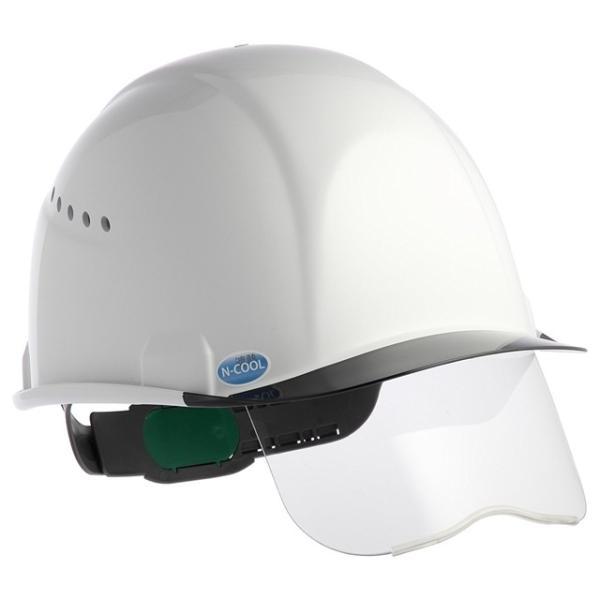 スミハット SAX2CS-A-NCOOL Nクール 遮熱 練込み コンパクトシールド面付き作業用ヘルメット(通気孔付き/エアシート)/ 夏 熱中症対策 工事用 建設用|proshophamada|02