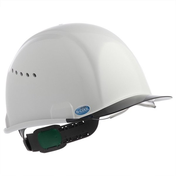 スミハット SAX2CS-A-NCOOL Nクール 遮熱 練込み コンパクトシールド面付き作業用ヘルメット(通気孔付き/エアシート)/ 夏 熱中症対策 工事用 建設用|proshophamada|03