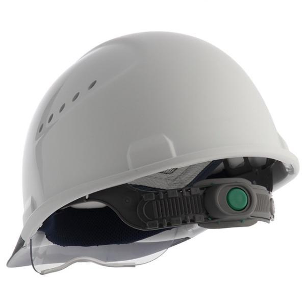 スミハット SAX2CS-A-NCOOL Nクール 遮熱 練込み コンパクトシールド面付き作業用ヘルメット(通気孔付き/エアシート)/ 夏 熱中症対策 工事用 建設用|proshophamada|04